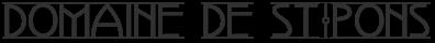 Domaine de St. Pons Logo